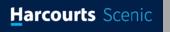 Harcourts Scenic logo