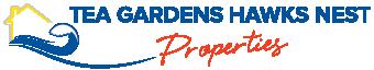 Tea Gardens Hawks Nest Properties - TEA GARDENS logo