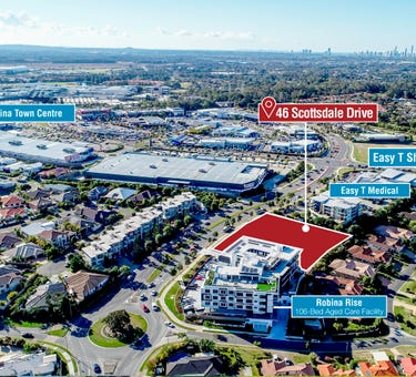 Approved Mixed Use Site, 46 Scottsdale Drive, Robina, Qld 4226