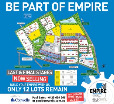 Stage 7 Empire Industrial Estate, Yatala, Qld 4207