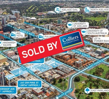 215-231 Grenfell St, 252-260 Pirie St, 247-259 Pirie St, 31-35 Worsnop Ave, Adelaide, SA 5000