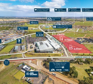 Lots 13, 14 and 15 Central Boulevard, Armstrong Creek, Vic 3217