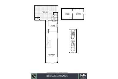 420 King Street Newtown NSW 2042 - Floor Plan 1