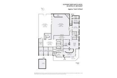 The Elephant and Castle Hotel, 35 Keppel Street Bathurst NSW 2795 - Floor Plan 1