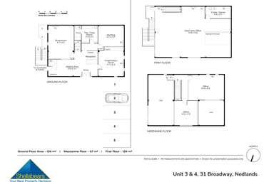 3 & 4, 31 Broadway Nedlands WA 6009 - Floor Plan 1