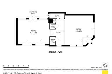 Shops 8 & 9 118-122 Queen Street Woollahra NSW 2025 - Floor Plan 1