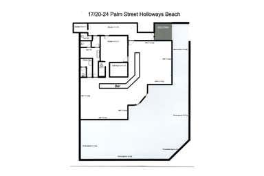 17/20-24 Palm Street Holloways Beach QLD 4878 - Floor Plan 1