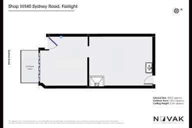 140 Sydney Road Fairlight NSW 2094 - Floor Plan 1