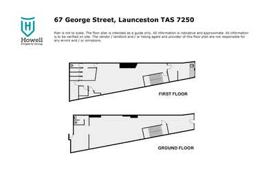 67 George Street Launceston TAS 7250 - Floor Plan 1