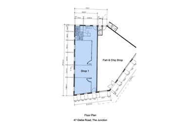 Suite 1/47 Glebe Road The Junction NSW 2291 - Floor Plan 1