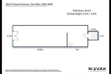 1B/12 Howard Avenue Dee Why NSW 2099 - Floor Plan 1