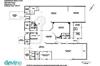 320 Main Road Glenorchy TAS 7010 - Floor Plan 1