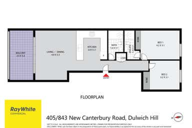 843 New Canterbury Road Dulwich Hill NSW 2203 - Floor Plan 1