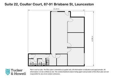 Suite 22, 87-91 Brisbane Street Launceston TAS 7250 - Floor Plan 1