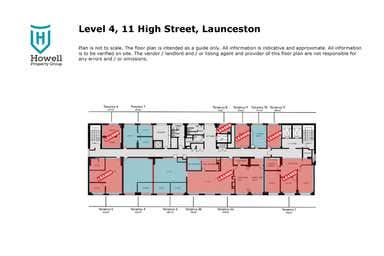 Level 4, 11 High Street Launceston TAS 7250 - Floor Plan 1
