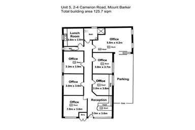 Cameron Road Business Park, 5/2-4 Cameron Road Mount Barker SA 5251 - Floor Plan 1
