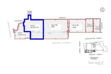 Ground Floor, Retail Shop 6, 199 George Street Sydney NSW 2000 - Floor Plan 1