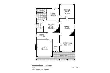 420 Hargreaves Street Bendigo VIC 3550 - Floor Plan 1