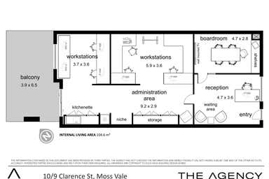 'Clarence House', 10/9 Clarence Street Moss Vale NSW 2577 - Floor Plan 1