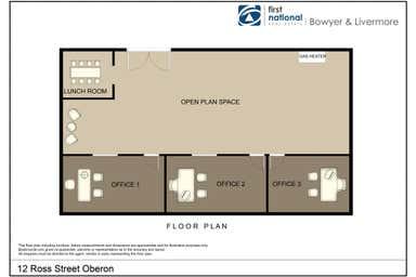 12 Ross Street Oberon NSW 2787 - Floor Plan 1