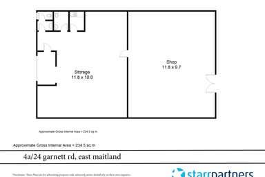 4a/24 Garnett Road East Maitland NSW 2323 - Floor Plan 1