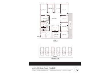3/33 Ryde Road Pymble NSW 2073 - Floor Plan 1