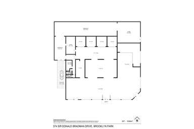 374 Sir Donald Bradman Drive Brooklyn Park SA 5032 - Floor Plan 1