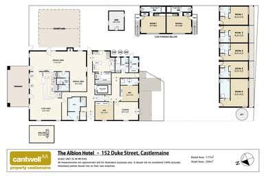 Albion Hotel Motel, 152 Duke Street Castlemaine VIC 3450 - Floor Plan 1