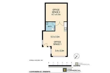 1/35 Wyandra Street Teneriffe QLD 4005 - Floor Plan 1
