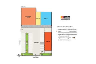 2 & 3, 985 South Road Melrose Park SA 5039 - Floor Plan 1