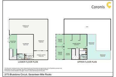 2/75 Bluestone Circuit Seventeen Mile Rocks QLD 4073 - Floor Plan 1