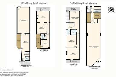 581 & 583 Military Road Mosman NSW 2088 - Floor Plan 1