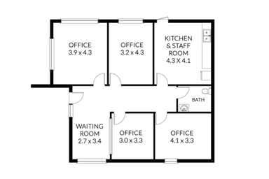 B, 238 Main Street Bacchus Marsh VIC 3340 - Floor Plan 1