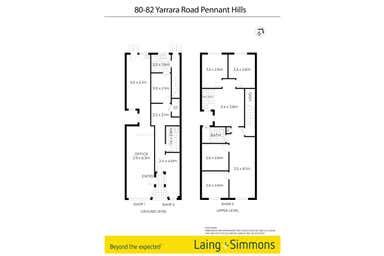 80-82 Yarrara Road Pennant Hills NSW 2120 - Floor Plan 1