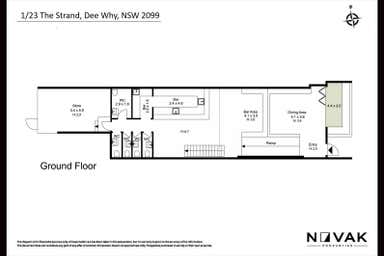 LEASED BY MICHAEL BURGIO 0430 344 700, 2A/23 The Strand Dee Why NSW 2099 - Floor Plan 1