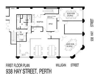 938 Hay Street Perth WA 6000 - Floor Plan 1