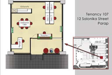 Suite 107, 12 Salonika Street Parap NT 0820 - Floor Plan 1