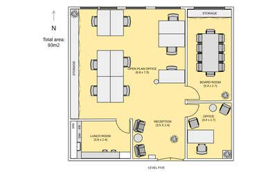 Reid House, Unit 18, 75 King Street Sydney NSW 2000 - Floor Plan 1