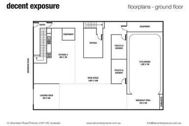 15-17 Aberdeen Road Prahran VIC 3181 - Floor Plan 1