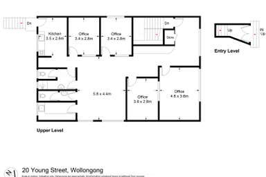 Level 1, 20 Young Street Wollongong NSW 2500 - Floor Plan 1