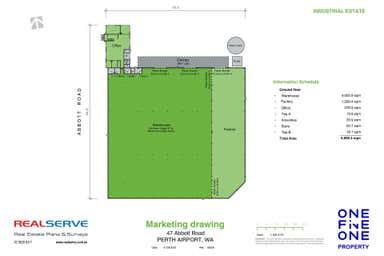 47 Abbott Road Perth Airport WA 6105 - Floor Plan 1