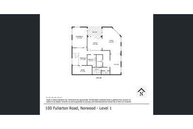 100 Fullarton Road Norwood SA 5067 - Floor Plan 1