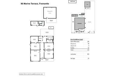96  Marine Terrace Fremantle WA 6160 - Floor Plan 1