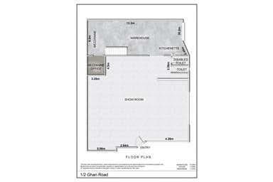 1/2 Ghan Road Ciccone NT 0870 - Floor Plan 1