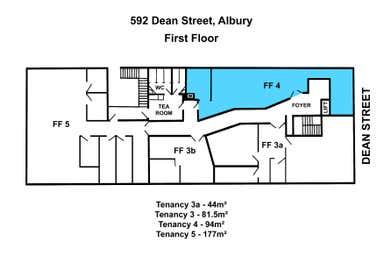 LVL 1, 4, 592 Dean Street Albury NSW 2640 - Floor Plan 1
