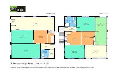 28 BRECKENRIDGE STREET Forster NSW 2428 - Floor Plan 1