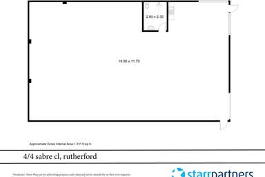 2/2 Sabre Close Rutherford NSW 2320 - Floor Plan 1