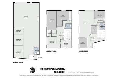 1/8 Metroplex Avenue Murarrie QLD 4172 - Floor Plan 1