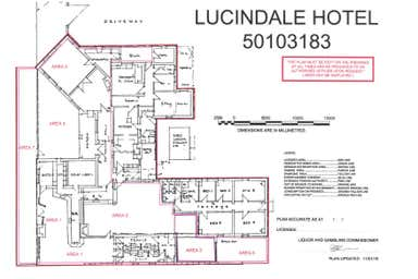 Lucindale Hotel, 28 Musgrave Avenue Lucindale SA 5272 - Floor Plan 1