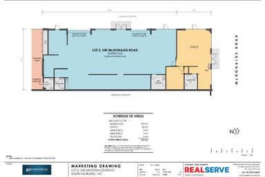 Showroom 2 545 McDonalds Road, South Morang, 2/545 McDonalds Road South Morang VIC 3752 - Floor Plan 1